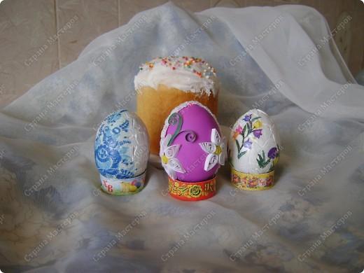 Пасхальные яйца в разных техниках и из разных материалов. фото 8