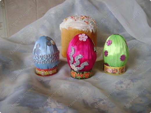 Пасхальные яйца в разных техниках и из разных материалов. фото 6
