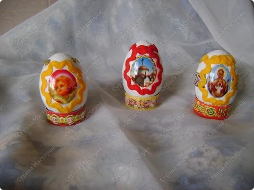 Пасхальные яйца в разных техниках и из разных материалов. фото 4