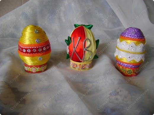 Пасхальные яйца в разных техниках и из разных материалов. фото 3