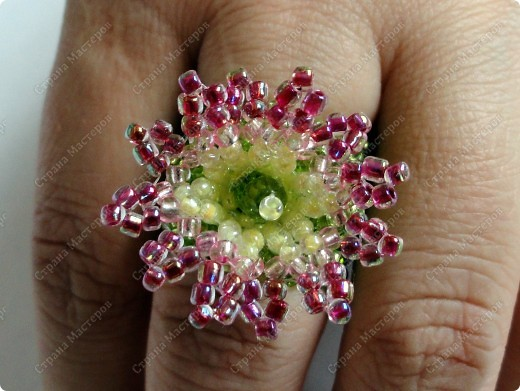 """кольцо """"Цветок пустыни"""" фото 4"""