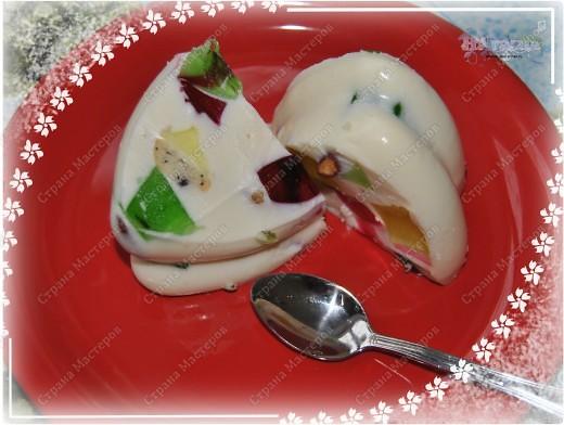 Серия вкусная, сладкая, легкая - ЖЕЛЕЙНАЯ! Очень люблю желе! Быстро готовить - вкусно полакомится! фото 3