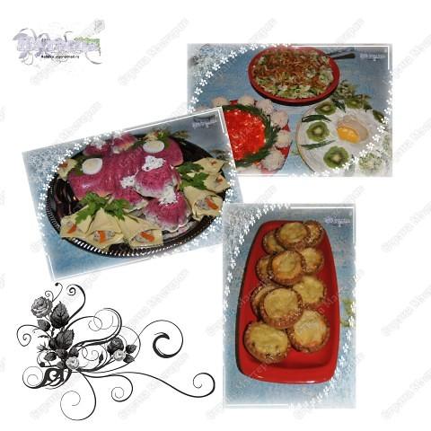 Серия праздничная, хотя... можно и каждый день устроить праздник! :-))) Серия салатно-закусочная. фото 1
