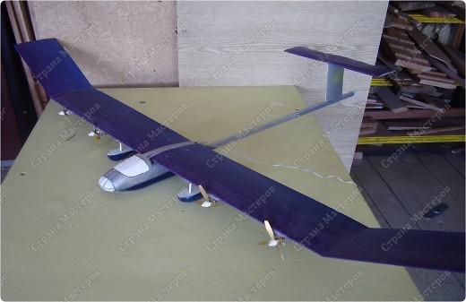 "Самолет на солнечных батареях ""Солнечная птица"" фото 1"