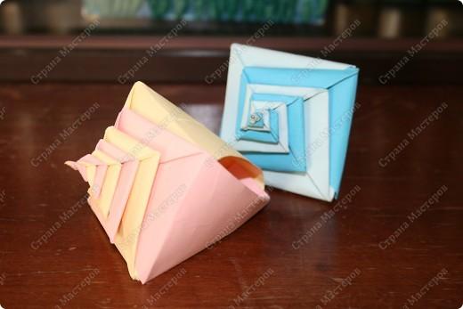 оригами-ракушки фото 2