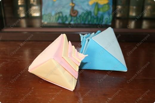 оригами-ракушки фото 3