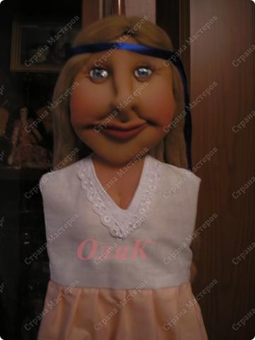 Хотела сделать совершенно другую куклу, ниже все покажу... фото 3