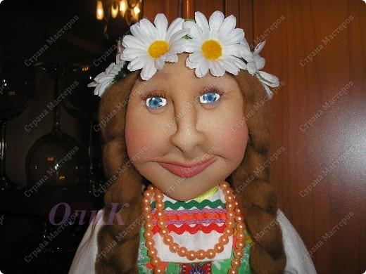 Хотела сделать совершенно другую куклу, ниже все покажу... фото 5