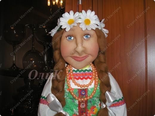 Хотела сделать совершенно другую куклу, ниже все покажу... фото 6