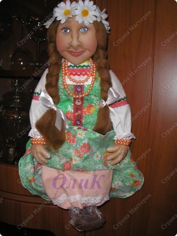 Хотела сделать совершенно другую куклу, ниже все покажу... фото 7