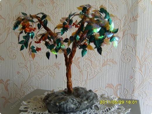 Мое первое деревце... Не судите строго- я только учусь... фото 1