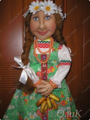 Хотела сделать совершенно другую куклу, ниже все покажу... фото 9