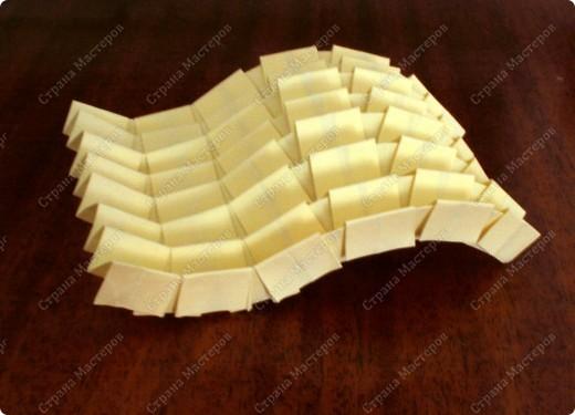 Гофрированный шарик. выполненный в технике оригами, гофрировка фото 6