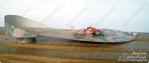 Увидела в блоге Scrap Boutique (адрес удален помощником сайта) МК на эту открытку, очень мне понравилась идея такой открытки - комплект нижнего белья)) И сделала такую для своей напарницы. Открытка очень всем понравилась! Очень она нестандартная, необычная)) фото 4