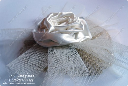 Такой свадебный наборчик делала на свадьбу подруге в октябре 2010 г. (первый заказ!!) Сейчас все по-отдельности покажу (фото будет много)): фото 6