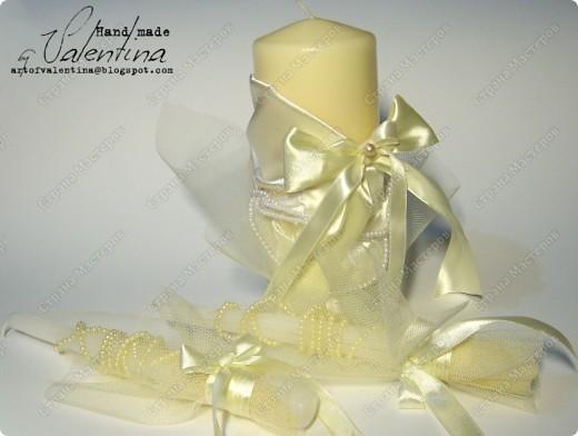 Такой свадебный наборчик делала на свадьбу подруге в октябре 2010 г. (первый заказ!!) Сейчас все по-отдельности покажу (фото будет много)): фото 4