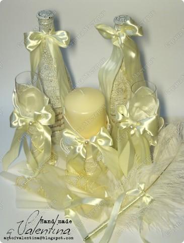 Такой свадебный наборчик делала на свадьбу подруге в октябре 2010 г. (первый заказ!!) Сейчас все по-отдельности покажу (фото будет много)): фото 1