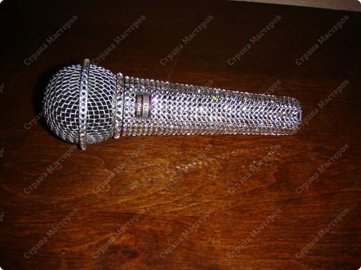 Гламурный микрофон. фото 3