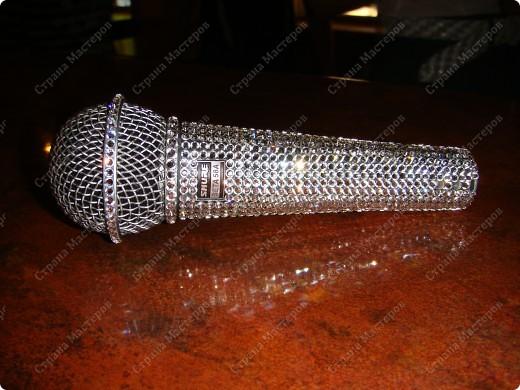 Гламурный микрофон. фото 1