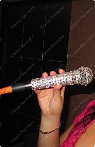 Гламурный микрофон. фото 5