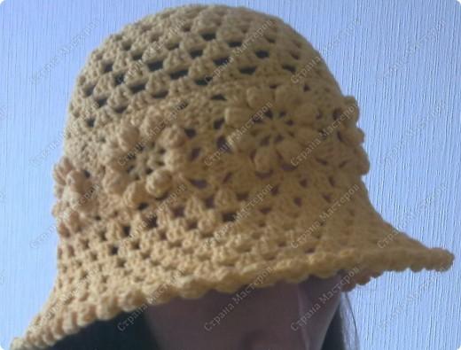 Это была моя первая шляпа...Даже не помню из какой пряжи.Единственное помню,что ленточная...Моточки вроде были маленькие и вроде их было два...  :)Просто это было давно.... фото 3