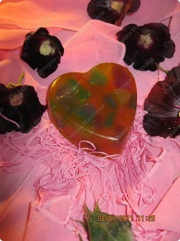 Мыльные цветы, букашка, и сердечки фото 4
