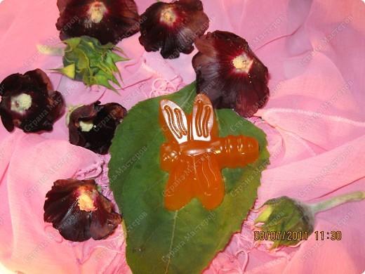 Мыльные цветы, букашка, и сердечки фото 5