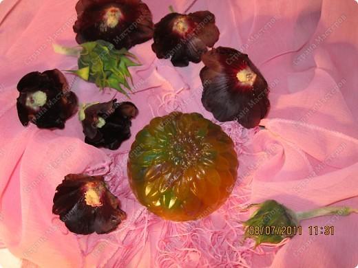 Мыльные цветы, букашка, и сердечки фото 2