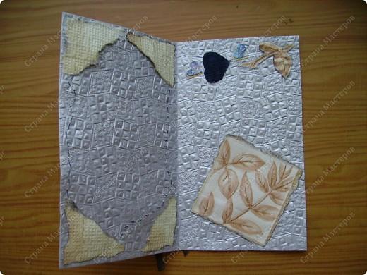 Мои открытки рождаются из материала, который нахожу вдруг, неожиданно. На даче наткнулась на старую джинсовую рубашку и пошло-поехало... фото 12