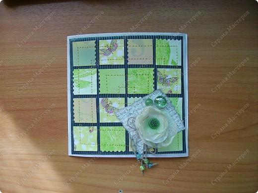 Была зеленая тоска...Загружаю в той последовательности, в которой выливалась моя зеленая тоска. фото 1