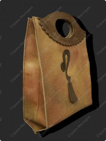 """сумка-пакет """"Бизнессвумен"""" фото 2"""