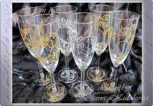 """Свадебные бокалы для битья """"На счастье!"""" фото 1"""
