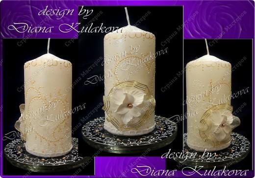 """Свадебные свечи """"Семейный очаг"""" фото 2"""
