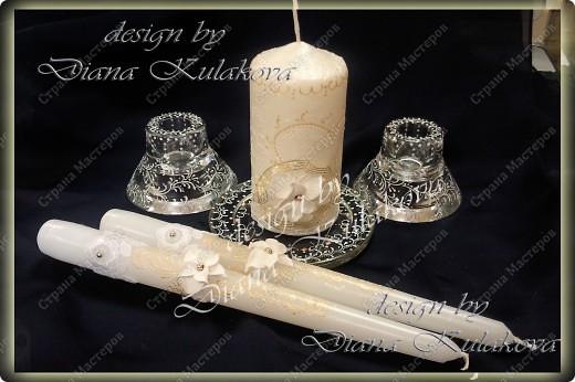 """Свадебные свечи """"Семейный очаг"""" фото 1"""