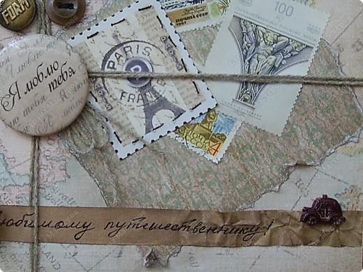 Ну вот родила открытку из подаренного мужем набора.   http://stranamasterov.ru/node/221531 фото 5