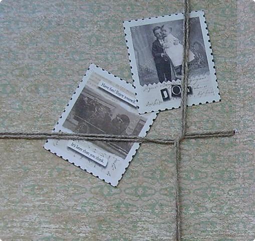 Ну вот родила открытку из подаренного мужем набора.   http://stranamasterov.ru/node/221531 фото 6