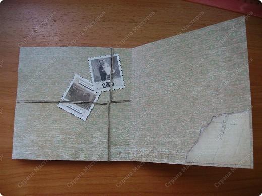 Ну вот родила открытку из подаренного мужем набора.   https://stranamasterov.ru/node/221531 фото 2