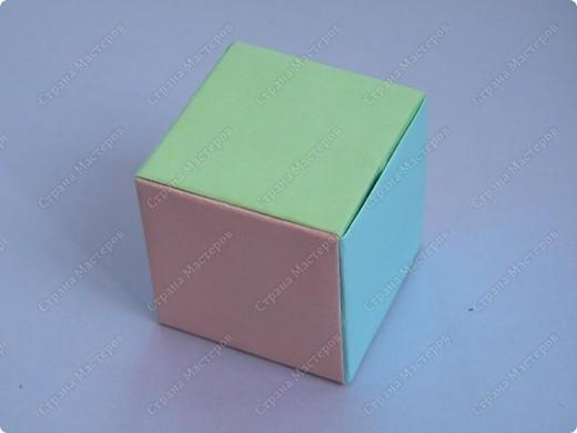 Кубик Идея не моя, но МК найти не могу. фото 1