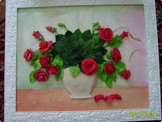 Еще одни розы.....долго мучилась,почему то не могла загрузить... фото 3