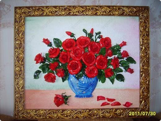 Еще одни розы.....долго мучилась,почему то не могла загрузить... фото 4