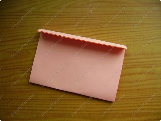 Вот такие мини-конвертики делаю без чертежа, наглазок. фото 5