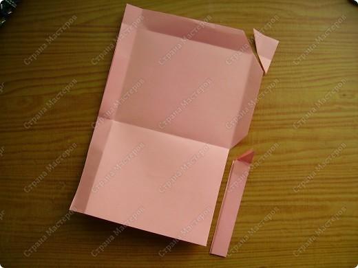 Вот такие мини-конвертики делаю без чертежа, наглазок. фото 8