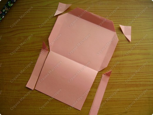 Вот такие мини-конвертики делаю без чертежа, наглазок. фото 9