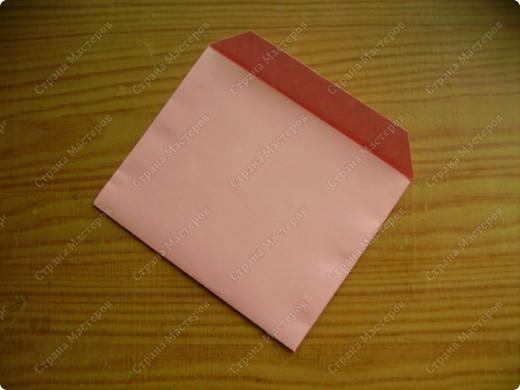 Вот такие мини-конвертики делаю без чертежа, наглазок. фото 11
