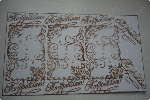 подарочный конверт (материалы: пастельная бумага, скрапбумага, ленточка в горох, штампы, вырубка, камея, цветочки все из пластики) фото 5