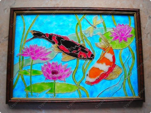 Рыбки Кои А4 фото 1