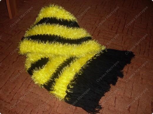 Вот такой шарфик  родился на свет. фото 1