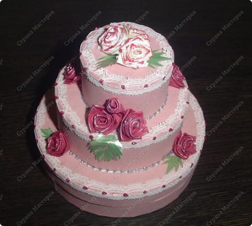 Захотелось мне сделать, чёрно-белый торт....  фото 5
