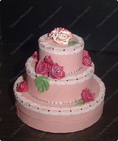 Захотелось мне сделать, чёрно-белый торт....  фото 4