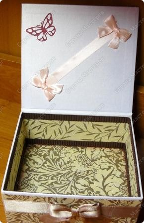 Коробочка в подарок фото 2